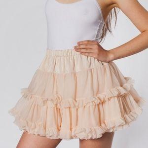 American Apparel petticoat skirt